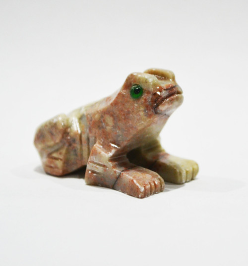 Frog Stone Carving