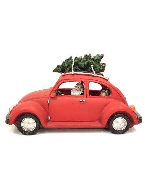 CHRISTMAS CAR - RESIN - VW BEETLE  Christmas Decoration