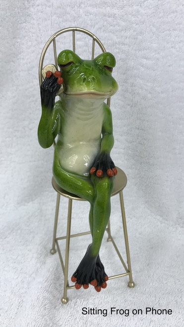 Cheeky Frog on Seat with Mobile