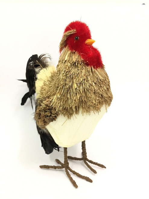 23CM-BRISTLESTRAW ROOSTER - (LARGE)