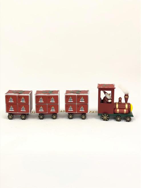 ADVENT - ROLLING TRAIN - 68CM Christmas Decoration