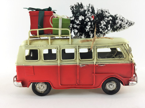 Classic Aussie Christmas Combi - 18cm - Red - With Tree and Presents!