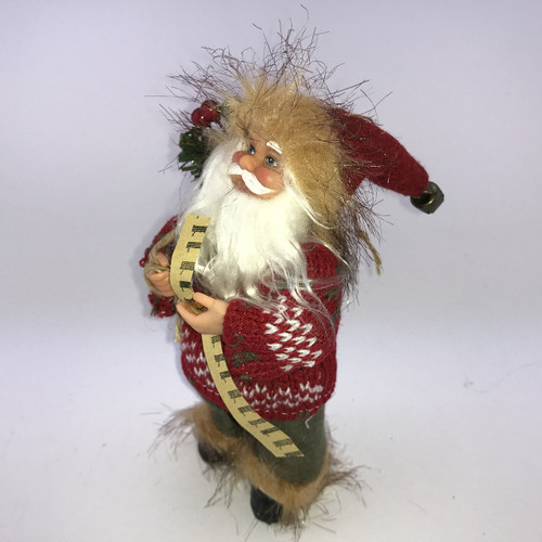 CLASSIC SANTA - JUMPER - 20cm Christmas Decoration