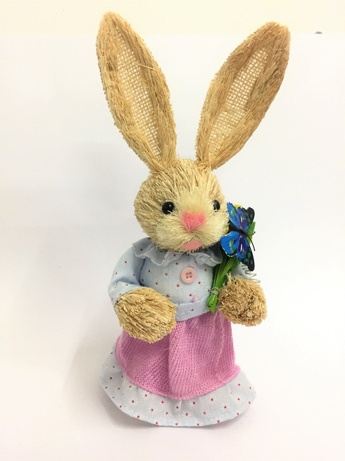 35cm Bunny with Butterfly -Pink - Female