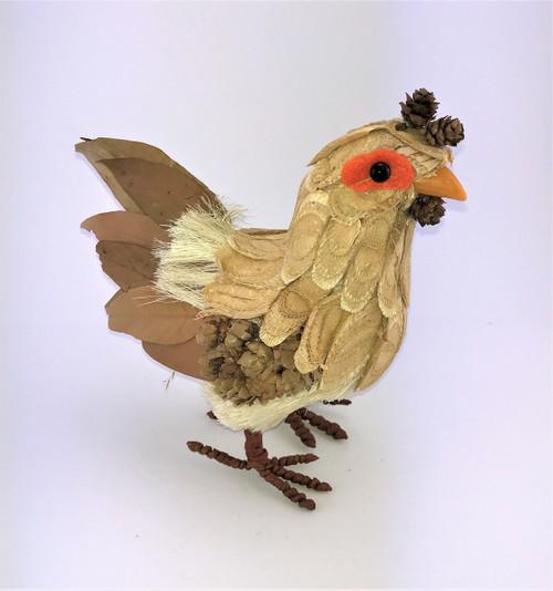Hen (Chicken) - 30cm  Beautifully designed Bristlestraw Hen