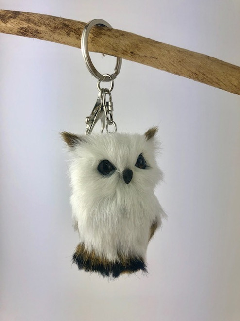 Gorgeous Furry Friends Keyring OWL. Collect them all