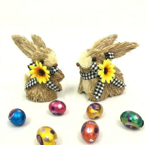 11CM BUNNY RABBIT MALE HAS A MATCHING FEMALE - RB11-SH310 - CAN BE PURCHASED SEPARATELY.