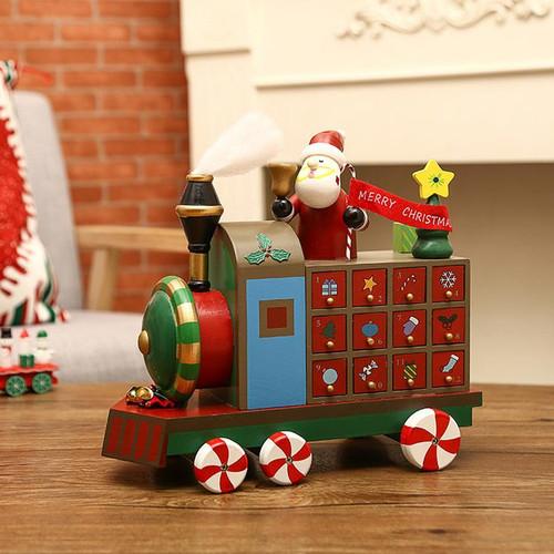 Locomotive Advent Calendar - 30cm