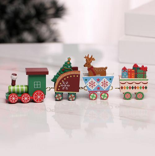 Gorgeous Mini Christmas Train - Boxed 20cm