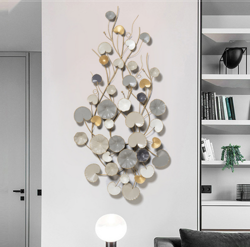 Gorgeous Wall Art - Autumn Greys - 135cm