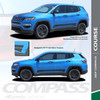 Rocker Decals for Jeep Compass COURSE ROCKER 2017 2018 2019 2020 2021