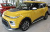 Front of Yellow 2021-2020 Kia Soul Graphics SOULPATCH 20 Hood & Sides