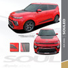 2020 2021 Kia Soul Hood Stripes and Lower Rocker Panel SOULED 3M Premium Auto Striping