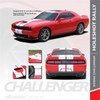 Dodge Challenger Hellcat Rally Racing Stripes Center HOLESHOT RALLY 2015-2020 2021Premium and Supreme Install
