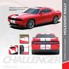 Dodge Challenger Hellcat Rally Racing Stripes Center HOLESHOT RALLY 2015-2019 2020 2021 Premium Auto Striping