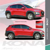 Digital and Solid  2020-2021 Hyundai Kona Side Decals BOLT KIT
