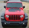 Unlimited JL Jeep Gladiator Hood Stripes 2020-2021 OMEGA HOOD