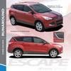 RUNAROUND : 2013-2019 Ford Escape Upper Body Line Vinyl Graphics Decal Stripe Kit