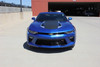 Front view of 2016 2017 2018 Camaro Racing Stripes HERITAGE center rally stripes
