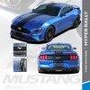 2018 2019 2020 2021 Ford Mustang Racing Stripe Wide Center Decals HYPER RALLY Premium Auto Striping
