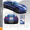 Chevy C7 Corvette 2014-2018 | C7 Corvette Rally Racing Stripes Decals