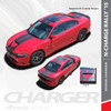 N-CHARGE RALLY S-PACK : 2015-2018 Dodge Charger R/T Scat Pack SRT 392 Hellcat Racing Stripe Rally Vinyl Graphics Decals Kit