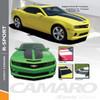 R-SPORT | 2010 Camaro Rally Stripes Vinyl Graphics 2010-2015 Wet and Dry Install Vinyl