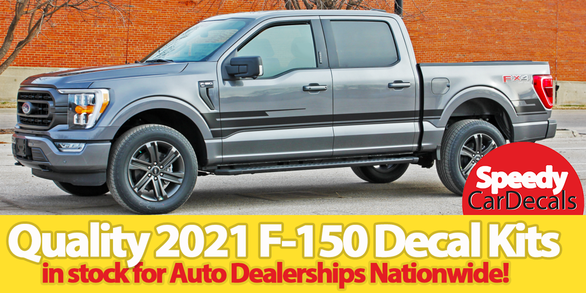 Quality 2021 F-150 Decals, Stripes, Graphic Kits