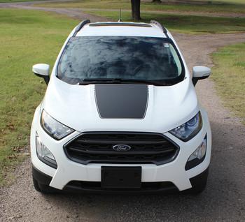 Ford EcoSport Center Hood Vinyl Graphics AMP HOOD 3M 2013-2020 Premium Auto Striping