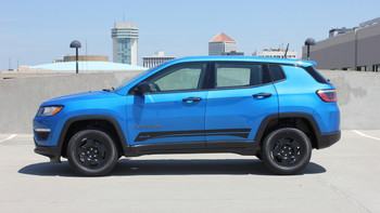 Side of 2018 Jeep Compass Graphics COURSE ROCKER 2017-2020