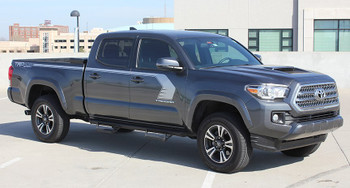 Toyota Tacoma Side Door Stripes STORM 2015-2017 2018 2019 2020 2021