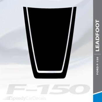 2019 Ford F150 Hood Decal LEAD FOOT HOOD 2015-2020