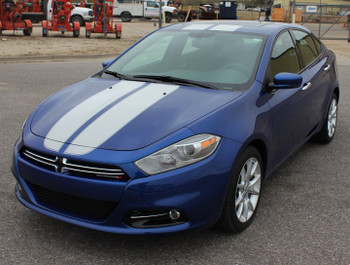 2015 Dodge Dart Racing Stripes SPRINT RALLY 3M 2013-2016