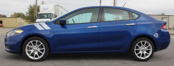 Dodge Dart Fender Stripes DOUBLE BAR 2013 2014 2015 2016