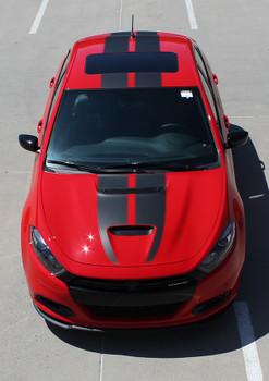 2013-2016 Dodge Dart GT Dual Racing Stripes SPRINT RALLY GT