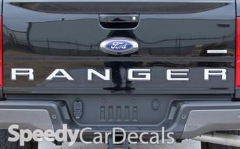 Ford Ranger Tailgate Stripes RANGER TAILGATE LETTERS 2019-2020 2021