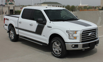 White 2018 Ford F 150 Graphics 15 FORCE 2 2009-2017 2018 2019 2020