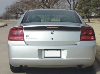 Rear View of 2006 Dodge Charger Decals CHARGIN 2006 2007 2008 2009 2010