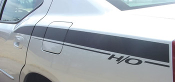 Rear Fender View of 2006 Dodge Charger RT Decals CHARGIN 2006 2007 2008 2009 2010