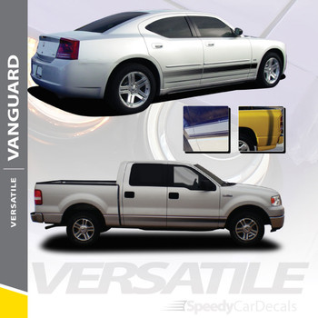 VANGUARD : Universal Fade Style Vinyl Rocker Panel Stripes