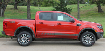 Ford Ranger Side Graphics NOMAD ROCKER 2019-2020