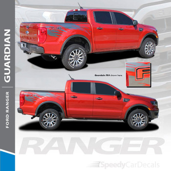 2019 2020 Ford Ranger Side Bed Stripes GUARDIAN 3M Premium and Supreme Install