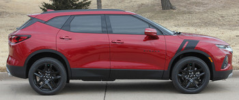 Profile angle of TORCH HASHMARK | 2019-2020 Chevy Blazer Fender Stripes