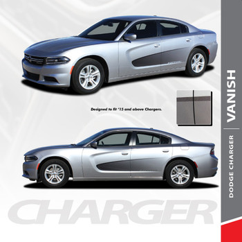2018 Dodge Charger Side Graphic Stripes VANISH 2015-2021