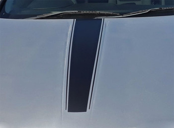 Hood view Classic! RT, SE or SXT Dodge Avenger Stripes AVENGED 2008-2014