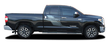 Side of 2021 Toyota Tundra Side Door Graphics AXIS SPORT 2015-2021