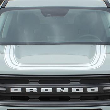 2021 Ford Bronco Hood Stripes REVIVE HOOD 3M Premium Auto Striping