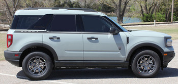 Side view of 2021 Ford Bronco Side Stripes LINEAR SIDE 2021 and up All Models
