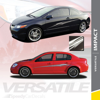 IMPACT : Universal Fit Vinyl Graphics and Decal Kit