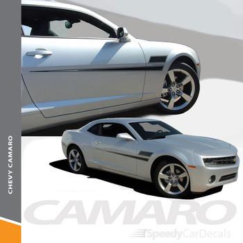 SHAKEDOWN | 2010-2015 Chevy Camaro Vinyl Graphics Side Stripe Wet and Dry Install Vinyl